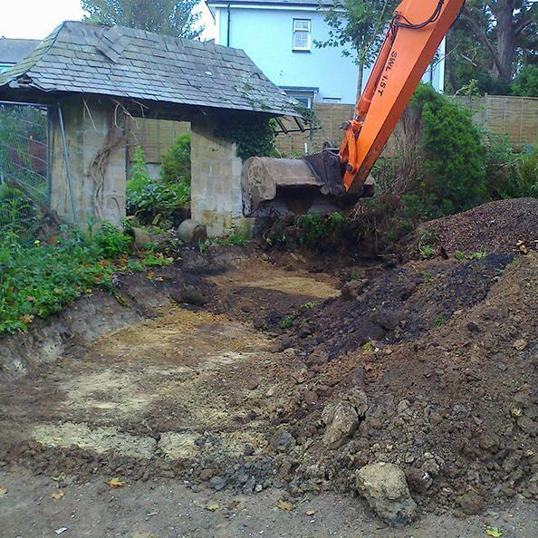 Remediation of a Contaminated Domestic Site